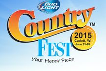 Giveaways Galore / Stay up to date with all of the fun #promotions and #contests we're running!  / by Country Fest Music Festival