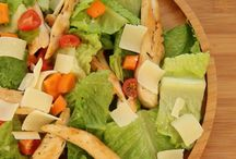 Salades froides et lunch box