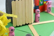 Latticed Learning: Nursery Rhymes