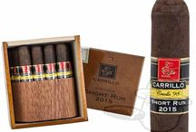 Cigars // E.P. Carrillo / Click through to our site for even more options on shapes and wrappers.