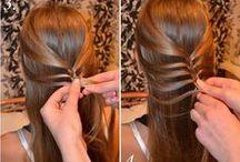 Tutoriais de cabelo trançado