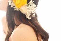 Kwiaty do włosów / by Takie Kwiatki