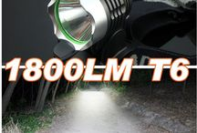 Fietslamp 1 cree T6 1800 Lumen / Fietslamp 1 cree T6 1800 Lumen