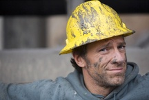Mike Rowe - sexiest, manliest, funny man alive! / by Gloria Macias