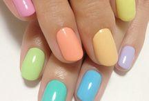 Nails springtime