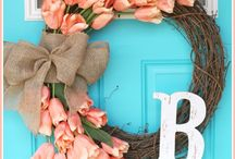 wreath diy/ krans maken