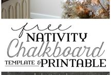 Christmas Nativity / I love nativity sets. Find all types of unique, fun, printable, gift ideas, and diy Nativity sets to make your Christmas Christ centered.