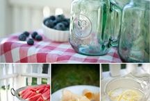 Pretty Picnic Pics! / Don't these sweet photos just make you want to go on a picnic this very second? It makes us want to for sure!! / by Just A Pinch Recipes