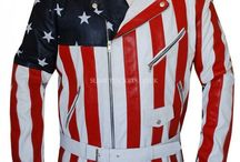 American Flag Biker Leather Jacket / American Flag Biker Leather Jacket is available at Slimfitjackets.co.uk at a discounted price with Worldwide free shipping. For more visit: https://goo.gl/oCD4ji