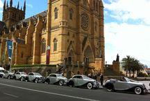 wedding transport / Wedding car hire in Sydney