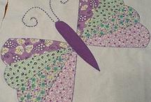 Mariposas en patchwork