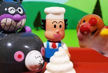 アンパンマンおもちゃアニメ❤赤ちゃんまんのアイスクリームの巻