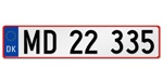 European License Plates / Licenseplates.tv has been the store of choice for European license plates from fifty-five (55) countries within this continent and featuring every country in the European Union.   The most popular European license plates are from Germany, Great Britain and the United Kingdom, Sweden, France, Italy, Switzerland and Austria and Licenseplates.tv have been experienced manufacturing license plates for over twenty-two (22) years.