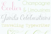 fonts, paper, printables / by Raechal Carron