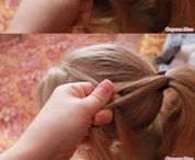 Kids braiding