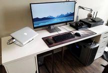 Setup desk