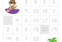 Number sheets