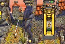 Temple Run 2 / Com o sucesso do jogo Temple Run para telefones celulares, Temple Run 2 continua a ser lançado aos jogadores com muitas coisas novas como estimulante atividades, salto, balanço e escorrega, você não pode deixe a mão de telefone