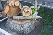 mit Holz basteln