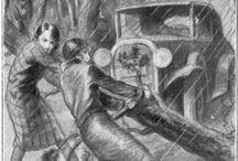 Nancy Drew Illustrations / by Secrets Of A Girl Sleuth