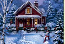 новогодние мотивы/ χριστουγενιάτικα μοτίβα/ christmas.