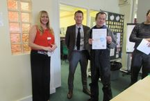 Green skills presentation 9 February 2016 / Participants in our latest Green Skills programme receive their certificates. Well done everyone!