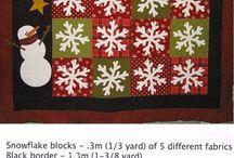 patchwork - vianoce