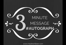 #MinuteMessage