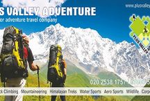 Adventure Activities / This includes all Adventure activities like rock climbing, trekking, River rafting, camping, wildlife experience etc.