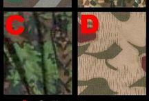 Tarnmuster Übersicht / Tarnmuster Hintergrund / Übersicht Die gängigsten Tarnmuster in einer Übersicht.  Tarnmuster der Wehrmacht inklusive / mehr Infos auf: www.Guntia-Militaria.de