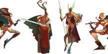 character design warriors