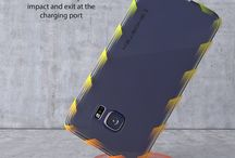 GALAXY S6 EDGE CASE, GHOSTEK CLOAK SERIES ! / Galaxy S6 Edge Case, Ghostek Cloak Series for Samsung Galaxy S6 Edge Slim Premium Protective Hybrid Impact Armor Hard Cover Carrying Case | Lifetime Warranty Exchange | Aluminum Bumper | Clear TPU | Ultra Fit Ghostek designed the Cloak with a minimalism in focus.
