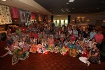 Droomdekentjes / wat een mooie gedachte je hobby beoefenen  en een kind blij maken met een mooie deken