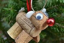 ideas deco-navideñas / Decoraciones navideñas de lo más variopinta.