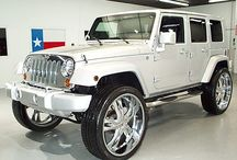 Suburban City Jeeps / This is dedicated to the city Jeeps, you know the ones with all the bling and never touch any dirt.