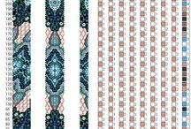 Bead Crochet Schemes