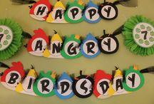 Cumpleaños angri birds