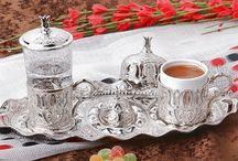 Osmanlı LALE Motifli Tek Kişilik Kahve Fincanı Seti - Gümüş Beyaz / Osmanlı LALE Motifli Tek Kişilik Kahve Fincanı Seti - Gümüş Beyaz SADECE : 39.90 TL KDV DAHİL