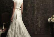 Modest Wedding Dresses / by Joy LaCombe