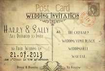 Cards and Invitations / scrapbook paper invitations, printed invitation, handmade greeting cards, etc