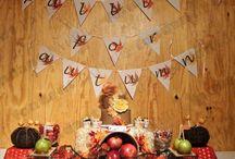 Autumn/Harvest/Thanksgiving printables