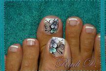 manicura en los pies