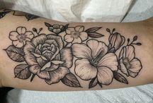 Virágos Tetoválások