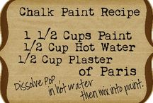 Paint recipes and ideas