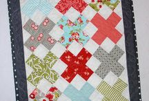 """Fiber love- 5"""" charm square projects"""