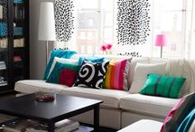 Livingroom ideas / colourful, simple, modern, chic, traditional, fun.
