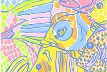fabrics & patterns / by Winn Baucom