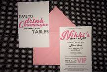 My invite designs