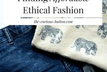 Eco Friendly Fashion & Accessories / Ethically made, eco friendly fashion & accessories