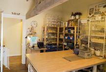 Studio Storage & Ideas